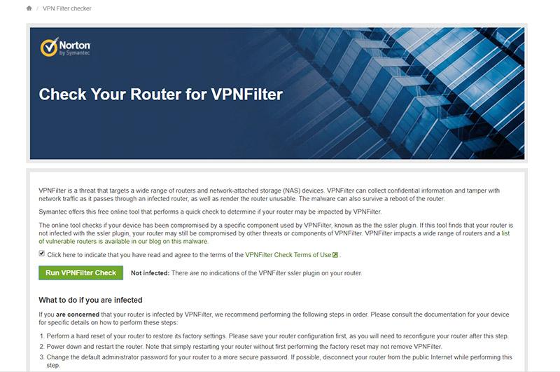 آیا روتر شما به بدافزار VPNFilter آلوده است؟ با این ابزار ساده روترتان را اسکن کنید